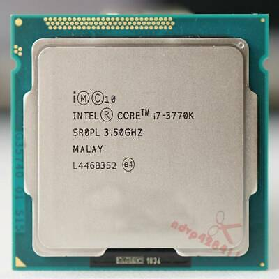 Intel I7-3770K CPU 3.5 GHz SR0PL 4 Cores Quad-Core CPU Processor 8M 77W LGA1155 • 110.19£