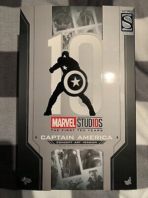 AU400 • Buy Hot Toys Captain America MMS 448 Concept Art Version 1/6th Scale Collectable