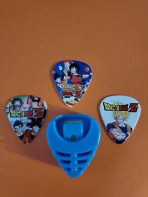 $ CDN14.99 • Buy DIY 3 Piece Dragon Ball  Guitar Pick Lot With Pick Holder