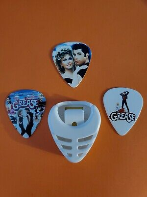$ CDN14.99 • Buy DIY 3 Piece Grease  Guitar Pick Lot With Pick Holder