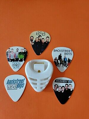 $ CDN19.99 • Buy DIY 5 Piece Bsb Guitar Pick Lot With Pick Holder