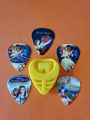 $ CDN19.99 • Buy DIY 5 Piece Beauty And Beast Guitar Pick Lot With Pick Holder