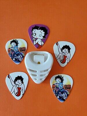 $ CDN19.99 • Buy DIY 5 Piece Betty Guitar Pick Lot With Pick Holder