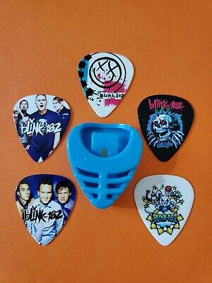 $ CDN19.99 • Buy DIY 5 Piece Blink Guitar Pick Lot With Pick Holder