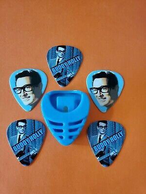 $ CDN19.99 • Buy DIY 5 Piece Buddy Guitar Pick Lot With Pick Holder