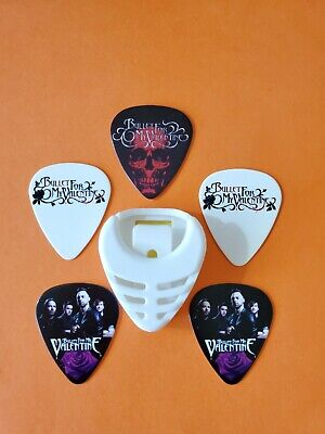 $ CDN19.99 • Buy DIY 5 Piece Bullet Guitar Pick Lot With Pick Holder