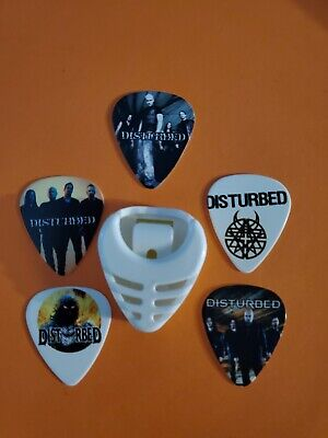 $ CDN19.99 • Buy DIY 5 Piece Disturbed Guitar Pick Lot With Pick Holder