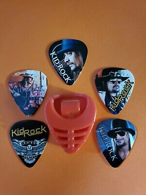 $ CDN19.99 • Buy DIY 5 Piece Rock Guitar Pick Lot With Pick Holder