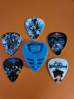 $ CDN19.99 • Buy DIY 5 Piece Kingdom Hart Guitar Pick Lot With Pick Holder
