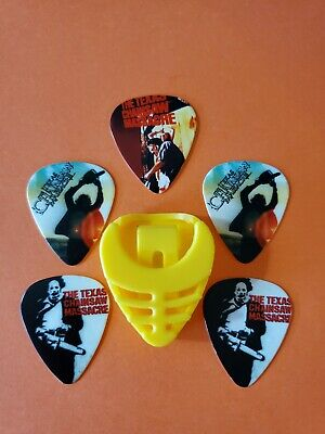 $ CDN19.99 • Buy DIY 5 Piece Texas Chainsaw Guitar Pick Lot With Pick Holder