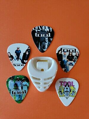 $ CDN19.99 • Buy DIY 5 Piece Tool Guitar Pick Lot With Pick Holder