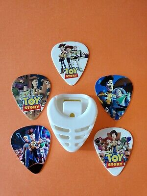 $ CDN19.99 • Buy DIY 5 Piece Toy Story Guitar Pick Lot With Pick Holder