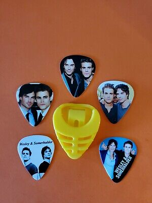 $ CDN19.99 • Buy DIY 5 Piece Ian And Paul Guitar Pick Lot With Pick Holder