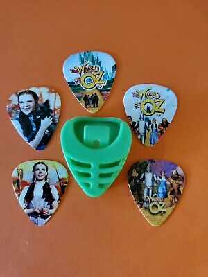 $ CDN19.99 • Buy DIY 5 Piece Wizard Of Oz Guitar Pick Lot With Pick Holder