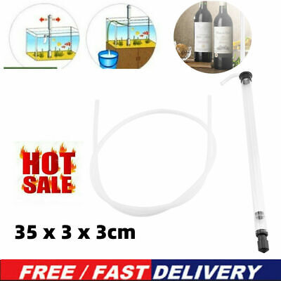 Auto Siphon Racking Cane For Beer Wine Bucket Carboy Bottle W/ Tubing Plastic • 6.93£