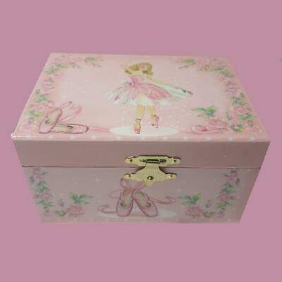 AU36.95 • Buy CUTEST Ballerina Musical Jewellery Box Kids Children's Birthday Girl's Gift