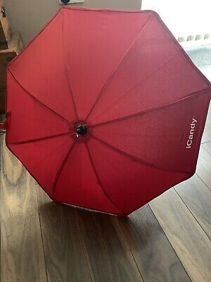 ICandy Sun Parasol Canopy Red New • 19.99£