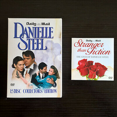 Boxed  DANIELLE STEEL COLLECTION  12 DVDs + Bonus DVD By The Daily Mail • 14.99£