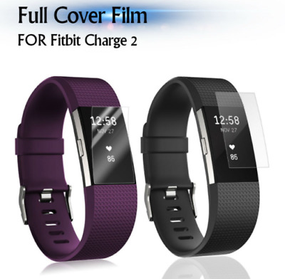 $ CDN3.24 • Buy Screen Protector For Fitbit Charge 2  TPU Hydrogel FILM Cover Hydrogel