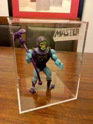 $29.99 • Buy MOTU MASTERS OF THE UNIVERSE VINTAGE Protector Case W/ Stand (No Figure) NEW!