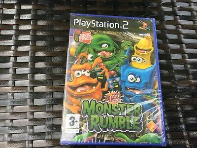 PlayStation 2 Ps2 Buzz Junior Monster Rumble Buzzer Game Brand New Sealed  • 39.99£