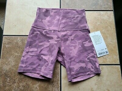 $ CDN90 • Buy Lululemon Align Shorts. Incognito Camo Pink  Taupe Multi. HR. Size 4