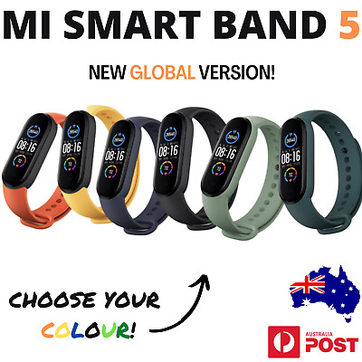 AU59 • Buy Xiaomi Mi Smart Band 5 Heart Rate Watch Fitness, Global Version! Aus 🇦🇺 Stock