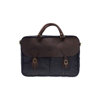 £162.13 • Buy Barbour Wax Leather Briefcase