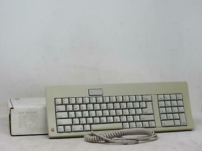 $ CDN251 • Buy Vintage APPLE M0116 ORIGINAL KEYBOARD W/ BOX AND CABLE Tested! Free Shipping!