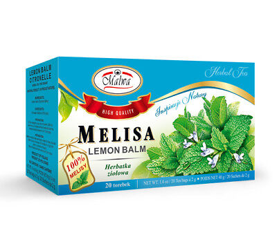 MALWA Lemon Balm Melisa Tea 2x Boxes 100% High Quality • 6.69£