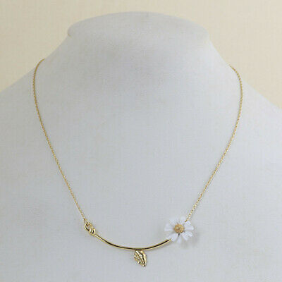 $ CDN24.35 • Buy Kate Spade Golden Chain And White Flower Necklace