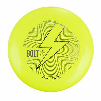 Frisbee BOLT OneSevenFive - Ultimate Frisbee Flying Disc! - UV Yellow • 12.99£