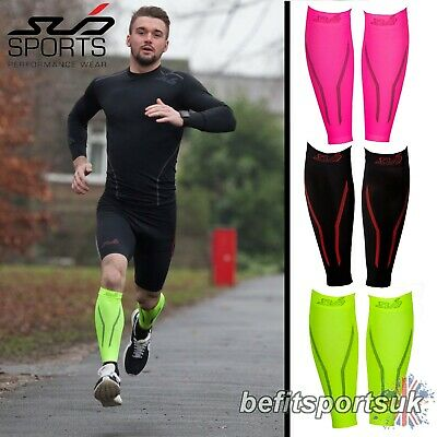 £9.95 • Buy Running Compression Calf Sleeve  Muscle Support Recovery  Injury Socks Sleeve