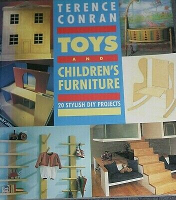 AU4.95 • Buy D.I.Y. Projects BOOK - TOYS AND CHILDRENS FURNITURE - By Terence Conran