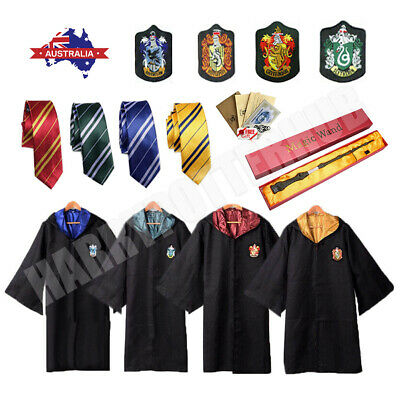AU21.75 • Buy Book Week Harry Potter Adult Gryffindor Slytherin Robe Cloak Fancy Dress Costume