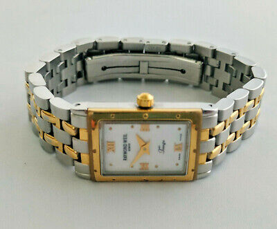 £209 • Buy Ladies Raymond Weil Tango Two Tone Gold Plated & Steel 5970 Watch