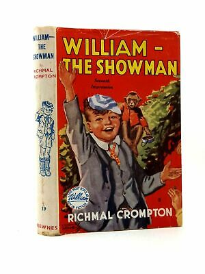 WILLIAM THE SHOWMAN - Crompton, Richmal. Illus. By Henry, Thomas • 35£