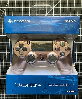 AU99 • Buy Sony PlayStation Dualshock 4 Controller (Rose Gold) / PS4 Controller
