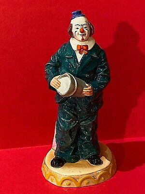 Royal Doulton Will He-Won't He Clown Figurine 3275 1989 • 95.45£
