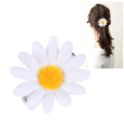 $ CDN5.22 • Buy 10pcs Hair Clips Daisy Sunflower Cute Hair Accessories For Girls Women Ladies