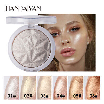 6 Color Marker Face Contour Palette Powder ShiningHighlight Cosmetic For Women C • 4.17£