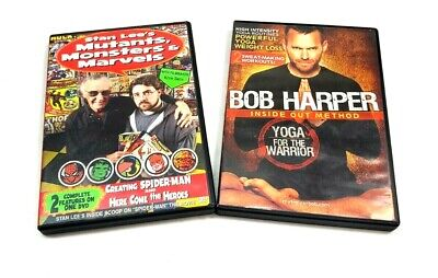 Bob Harper: Yoga For The Warrior + Stan Lee's Mutants, Monsters, And Marvels • 9.76£