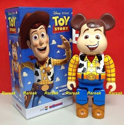 $972.99 • Buy Medicom Be@rbrick 2015 Disney Toy Story 400% Woody Cowboy Bearbrick