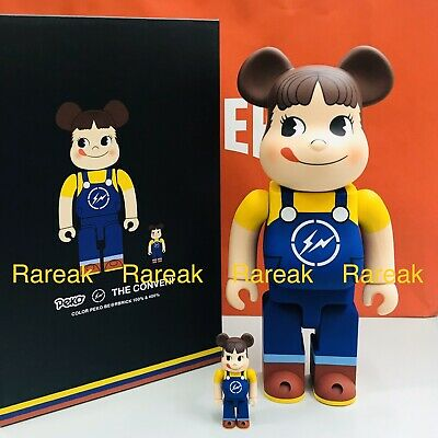 $706.99 • Buy Medicom Be@rbrick 2020 Peko Chan X Fragment Conveni 400% + 100% Colour Bearbrick