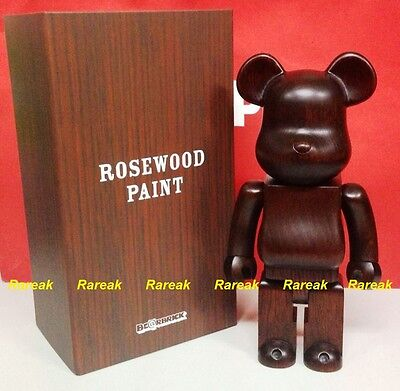 $2984.99 • Buy Medicom Be@rbrick Karimoku Rosewood Paint Wooden 400% Rose Wood Bearbrick