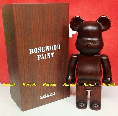 $2649.99 • Buy Medicom Be@rbrick Karimoku Rosewood Paint Wooden 400% Rose Wood Bearbrick