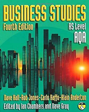 Business Studies For AQA : AS Level Paperback Alain Anderton • 6.64£