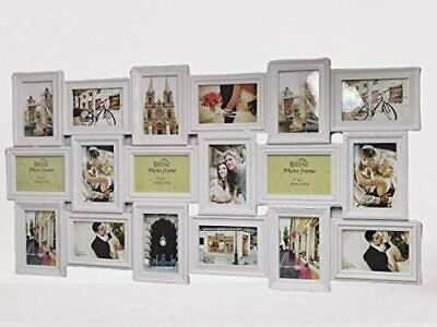 £22.99 • Buy Best Quality 18 MULTI PHOTO FRAME LOVE FAMILY FRIEND COLLAGE HOME WALL PICTURE
