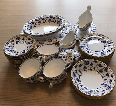 SPODE BLUE COLONEL Gold Rimmed *** Rare Discontinued ***all Items Reduced  • 60£