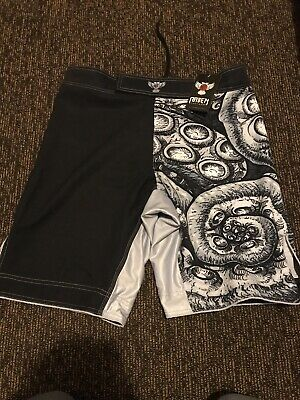 AU50 • Buy Raven Fightwear MMA Training Shorts X2 Brand New With Tags Size 34